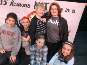 """Cast of """"15 Reasons Not to Be In A Play"""""""