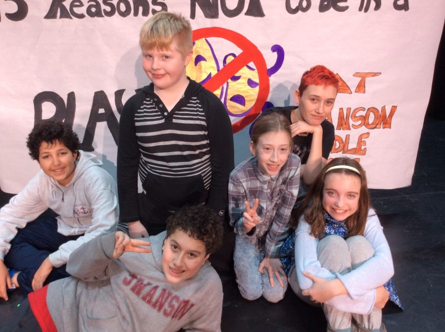 Cast of 15 reasons why not to be in a play