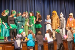 The Wiz, Ozians, Dorothy, Lion, Tin Man & Scarecrow