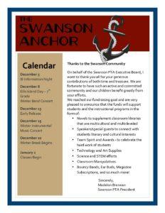 December Anchor