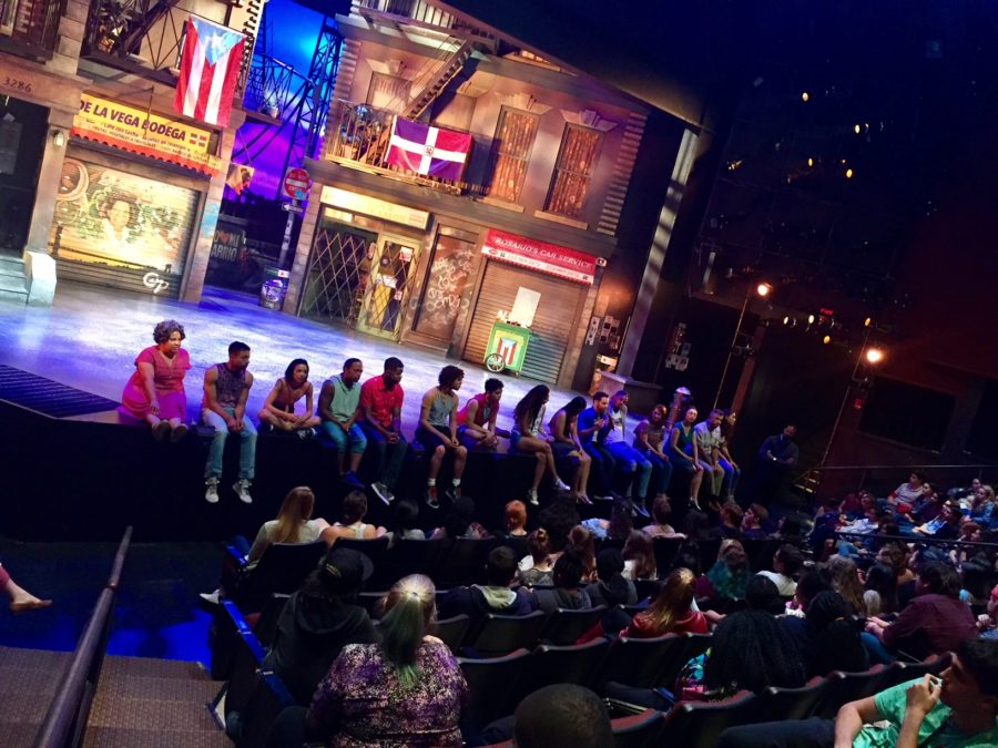 In the Heights with the cast