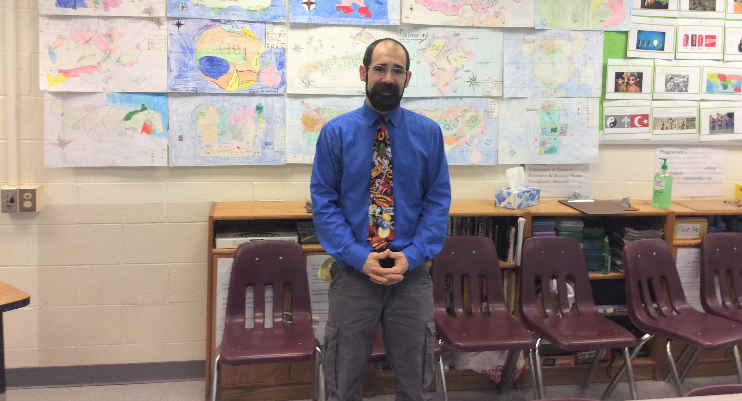 Swanson Teacher of the Year – Mr. Campbell!
