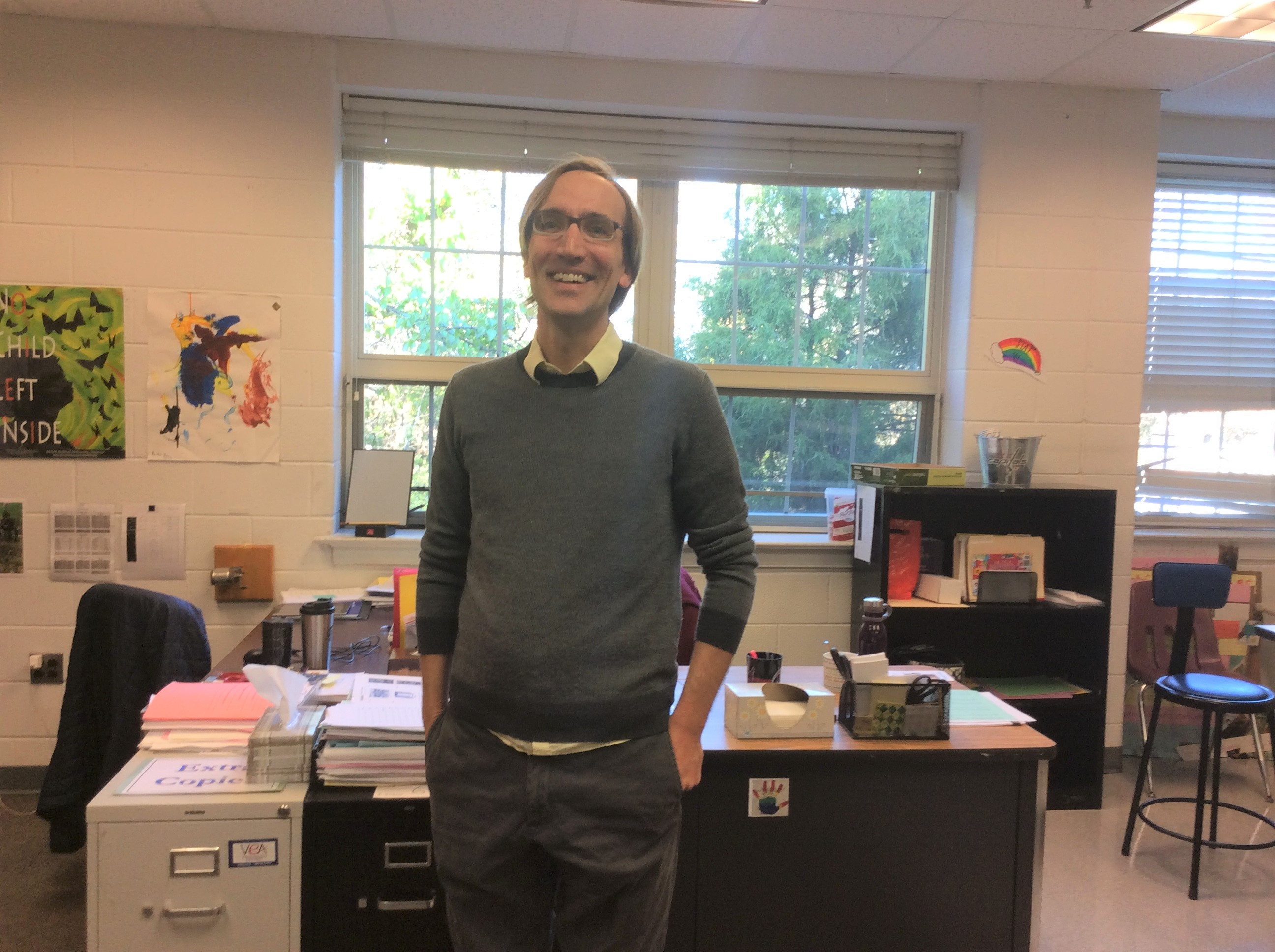 Teacher Tuesday – Mr. Brown!