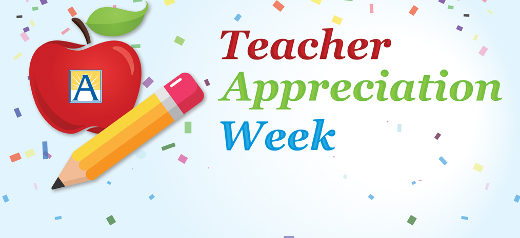 Teacher Appreciation Week – May 3-7